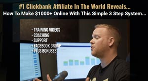 #1 Clickbank Affiliate In The World